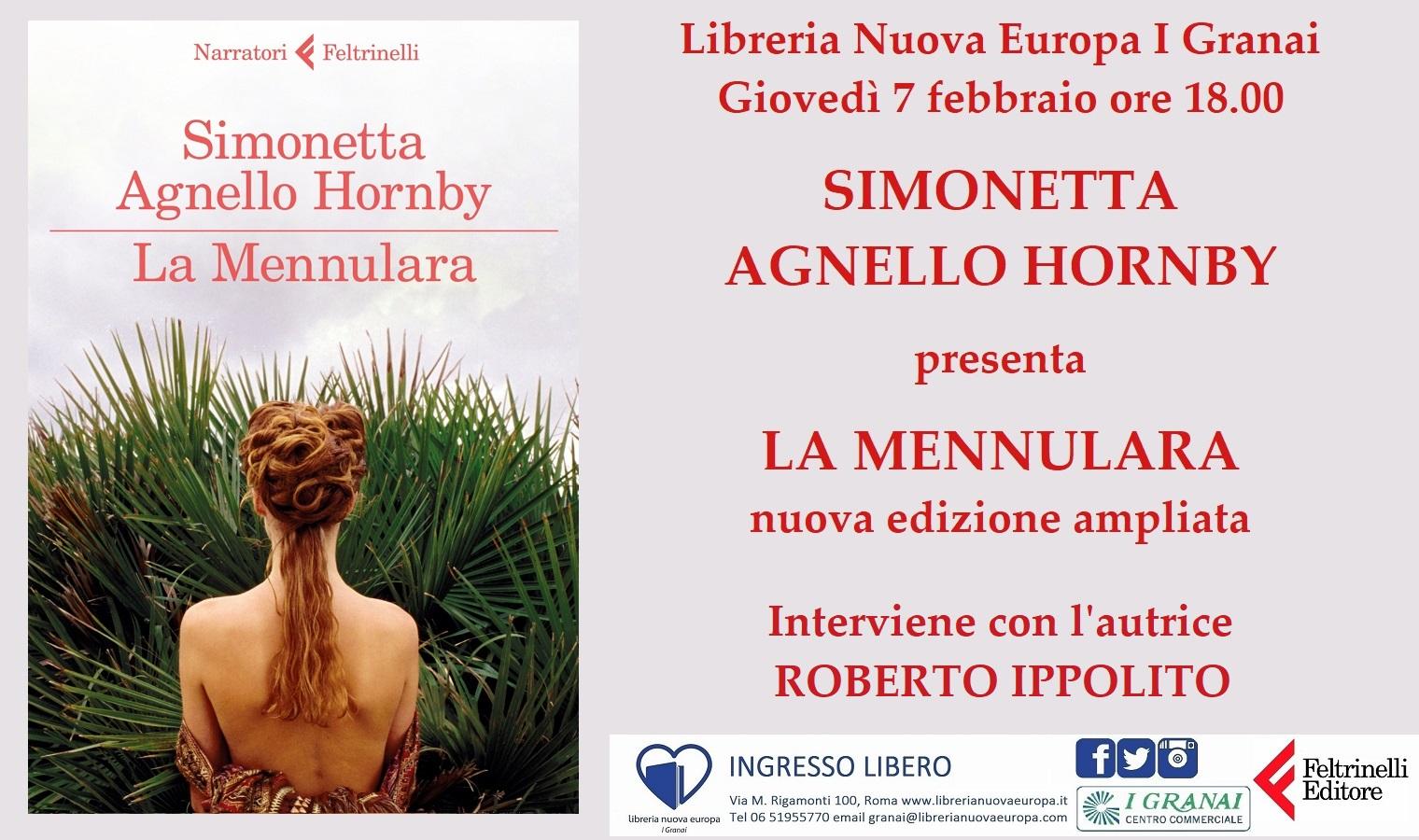 Simonetta Agnello Hornby presenta