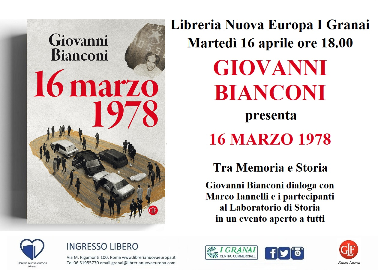 Giovanni Bianconi presenta