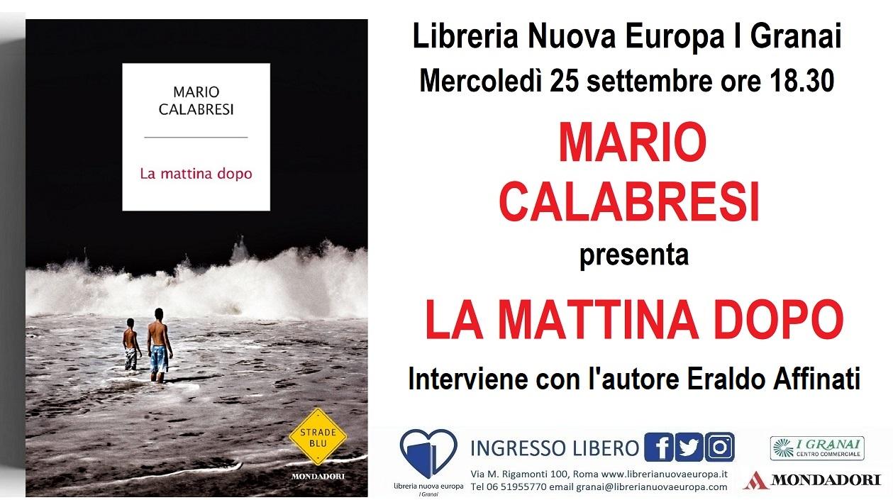 Mario Calabresi presenta