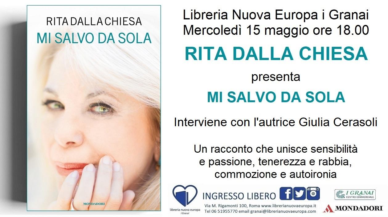 Mi salvo da sola: Rita Dalla Chiesa in libreria
