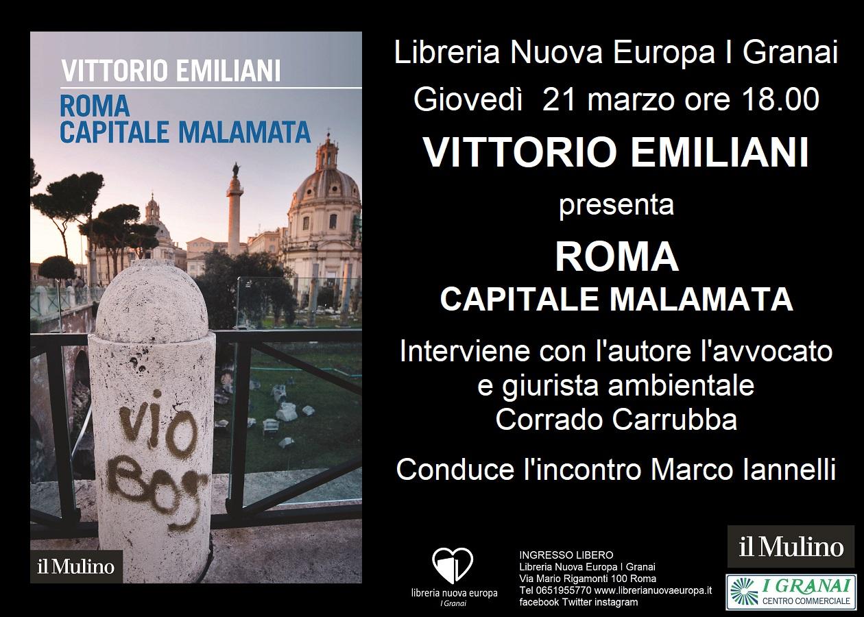 Roma. Capitale malamata. Incontro con Vittorio Emiliani