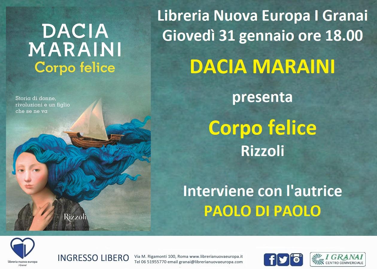 Dacia Maraini presenta