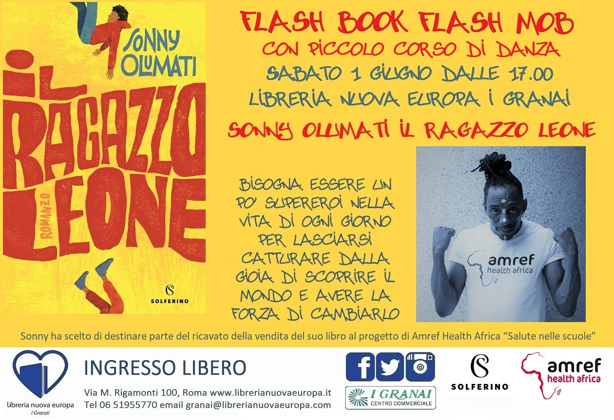 Flash Book Flash Mob! Con Sonny Olumati si danza in libreria!