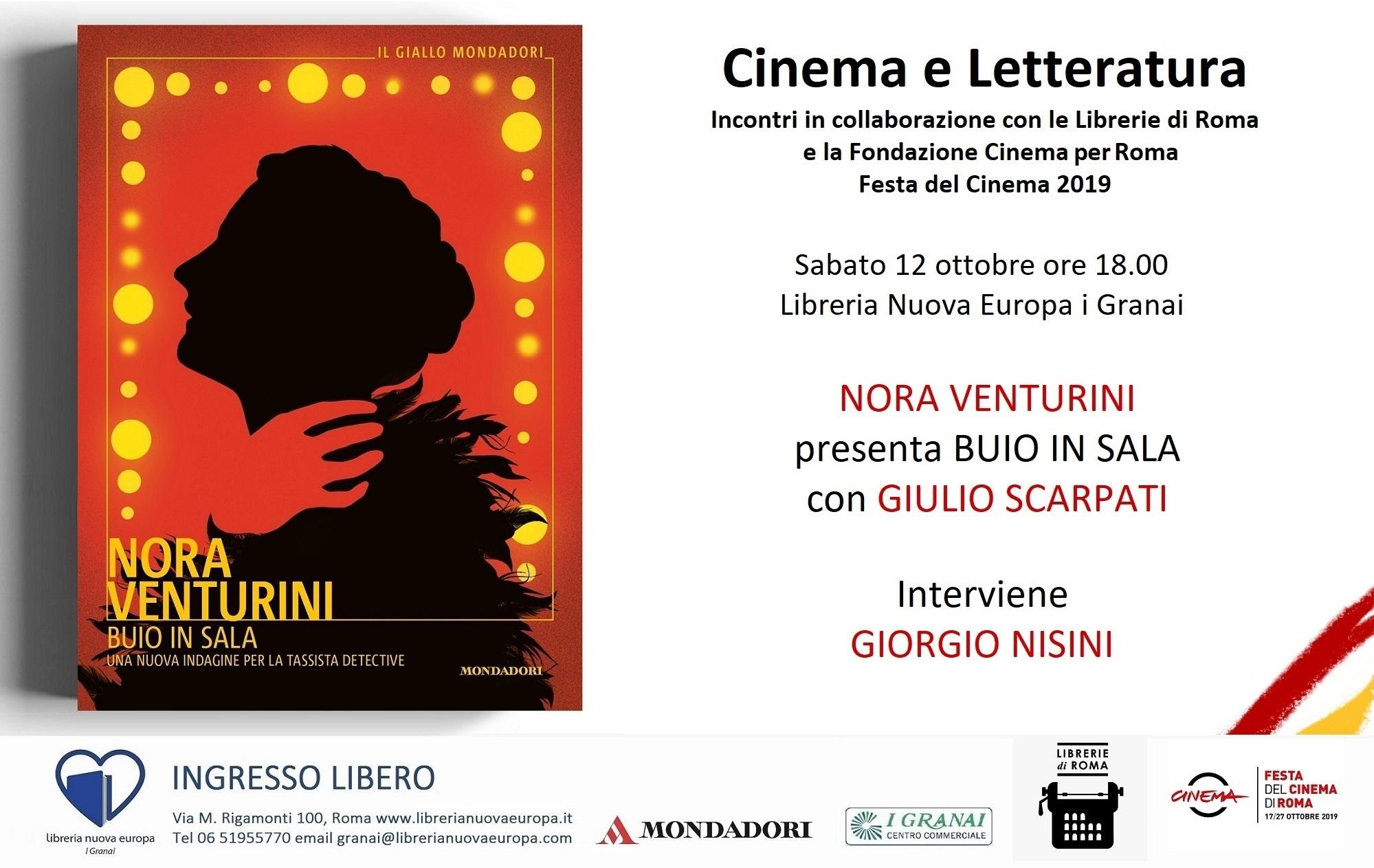 La Festa del Cinema inizia in Libreria con Nora Venturini, Giulio Scarpati e Giorgio Nisini
